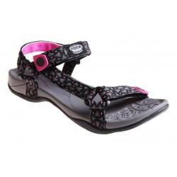 šedo-růžové dámské sandály Rock spring Vinay