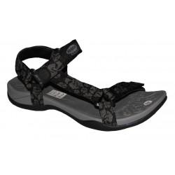 černo-šedé dámské sandály Rock spring Vinay