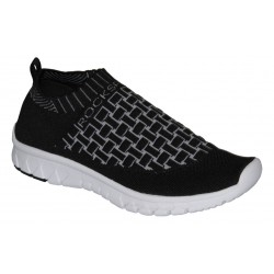 černá slip-on obuv Rock spring Marges