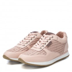 béžovo-růžové (nude) kožené španělské tenisky Carmela 67280
