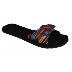 černo- barevné pantofle Rock spring Laos girl