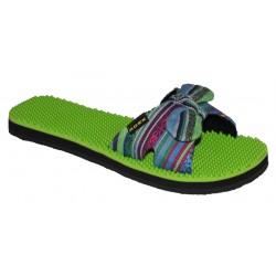 zeleno- barevné pantofle Rock spring Laos girl