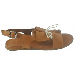 hnědé (couio) kožené sandálky Bari Kira 99
