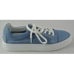 modré kožené tenisky Bari Bethy 14