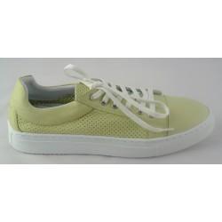 mentolově zelené kožené tenisky Bari Bethy 14