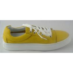 žluté kožené tenisky Bari Bethy 14