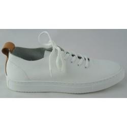 bílé kožené tenisky Bari Bethy 15