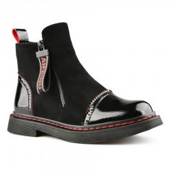 černá kotníková obuv Tendenz MGW20-006