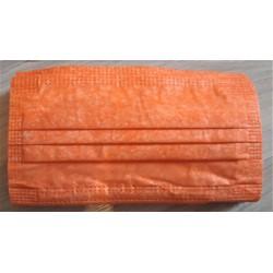 10 ks (8 Kč/kus)- oranžové medicínské jednorázové certifikované roušky typu IIR, vyrobeno v EU