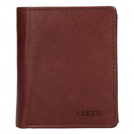 pánská kožená hnědá peněženka 02310004