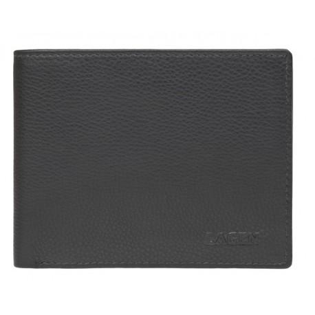 pánská kožená černá peněženka C-22