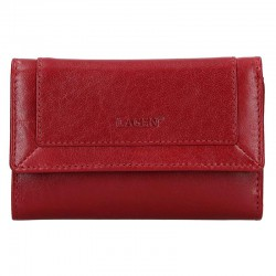 dámská červená kožená peněženka BLC/4390