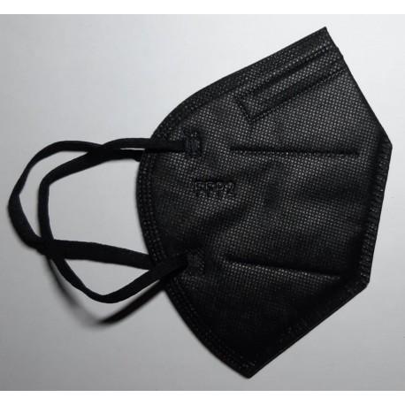 20 ks (16,95 Kč/kus) certifikovaný evropský černý respirátor FFP2 NR originál