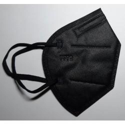 5 ks (15,80 Kč/kus) certifikovaný evropský černý respirátor FFP2 NR originál