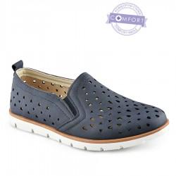 tmavě modrá slip-on obuv Tendenz QMS21-074