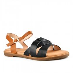 černé sandálky Tendenz FAS20-008