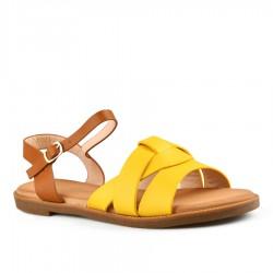 žluté sandálky Tendenz FAS20-008