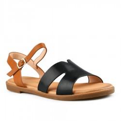 černé sandálky Tendenz FAS20-006