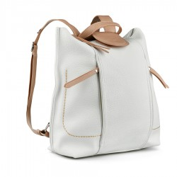 bílo-hnědý batoh Tendenz FFS21-040