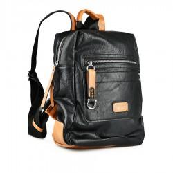 černo-hnědý batoh Tendenz FFS21-025