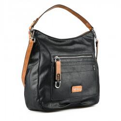 černá kabelka Tendenz FFS21-024