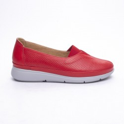 červená slip-on obuv MatStar 605038