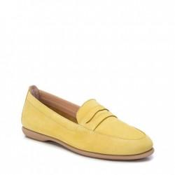 žluté kožené mokasíny Carmela 067150