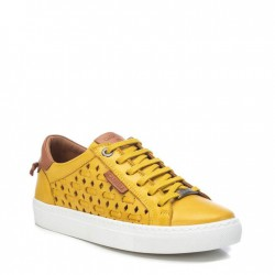 žluté kožené tenisky Carmela 067826