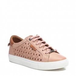 béžovo-růžové kožené tenisky Carmela 067826