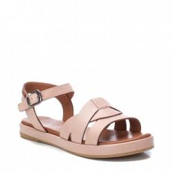 béžovo-růžové kožené sandálky Carmela 067831