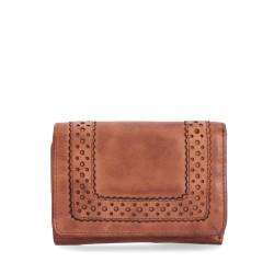 hnědá kožená dámská peněženka P5110