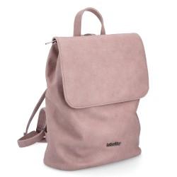 růžový elegantní batoh 4126