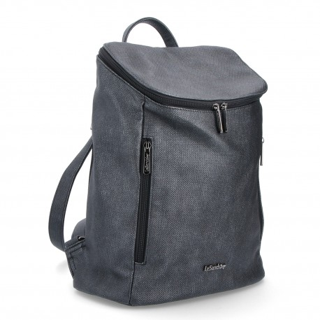 černý elegantní batoh 4121