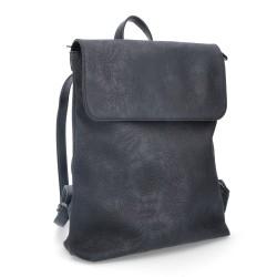 černý batoh  se vzorem krajky 4139