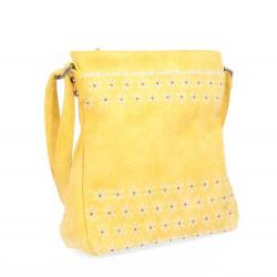 žlutá crossbody kabelka s hvězdičkami 6266