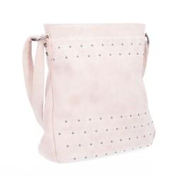 růžová crossbody kabelka s hvězdičkami 6266