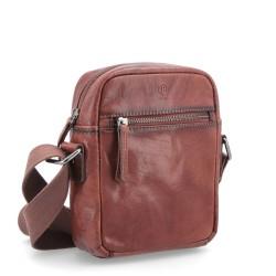 koňaková kožená pánská crossbody taška BS 2214