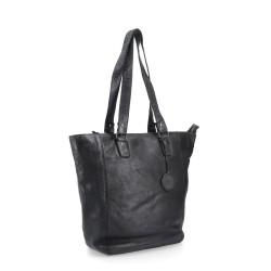 černá kožená kabelka BS 2021