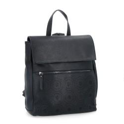 černý batoh s perforací 6260