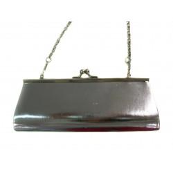 červená společenská kabelka psaníčko