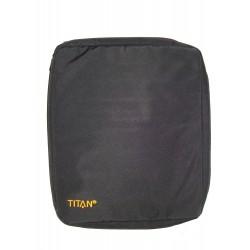 khaki toaletní textilní pouzdro TITAN