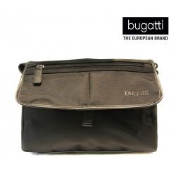pánská černá crossbody taška BUGATTI - MESSENGER BAG MEDIUM