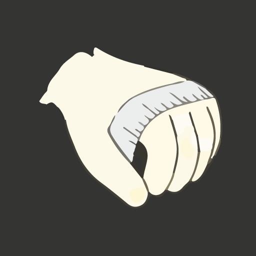 měření ruky